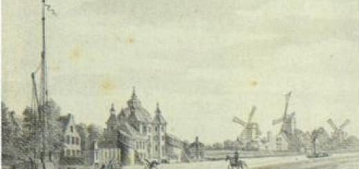 De Vaartse Rijn t.h.v. Rotsoord