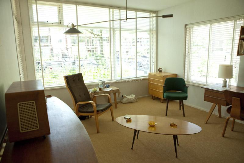 Museumwoning robijnhof 13 modern in jaren 50 nostalgisch for Jaren 60 interieur