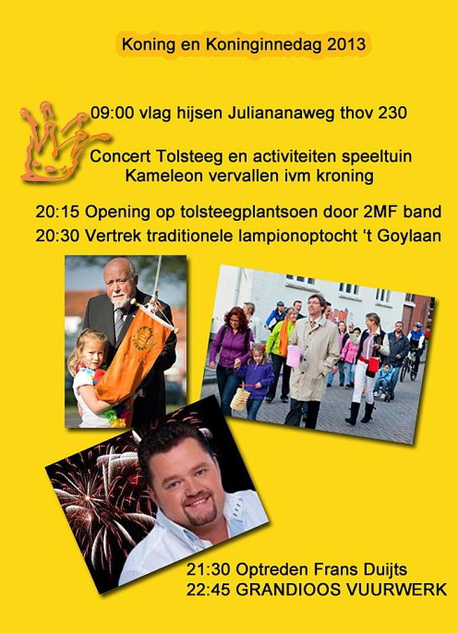 Koning en Koninginnedag 2013 Hoogravens Belang
