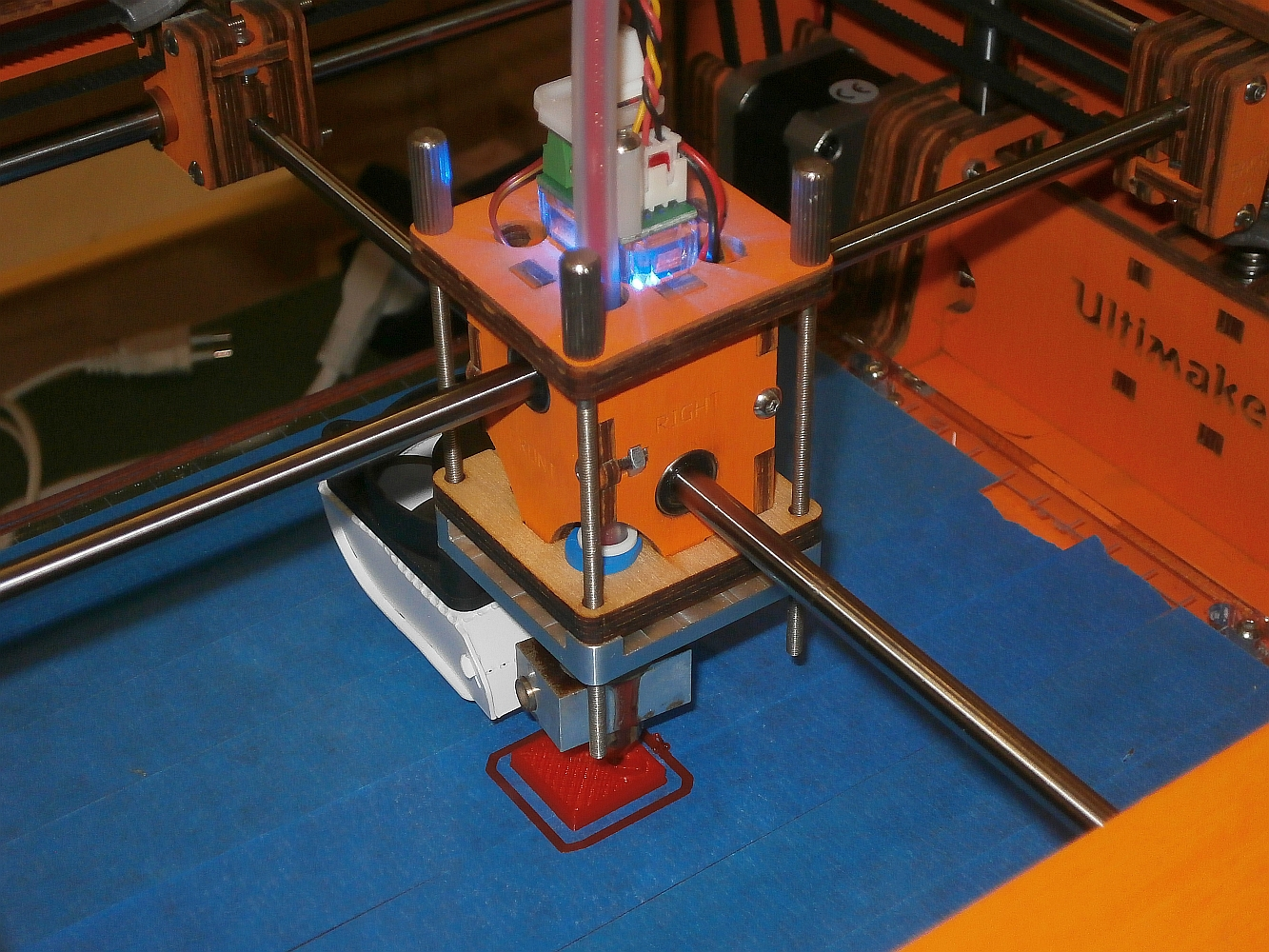 Rotslab 3D printer print