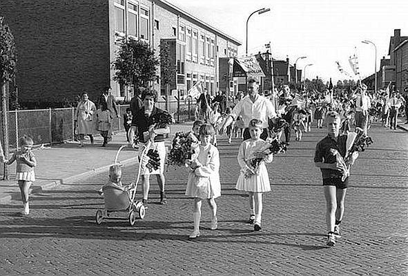 Duurstedelaan Arriensschool Avond4daagse 1968 HUA