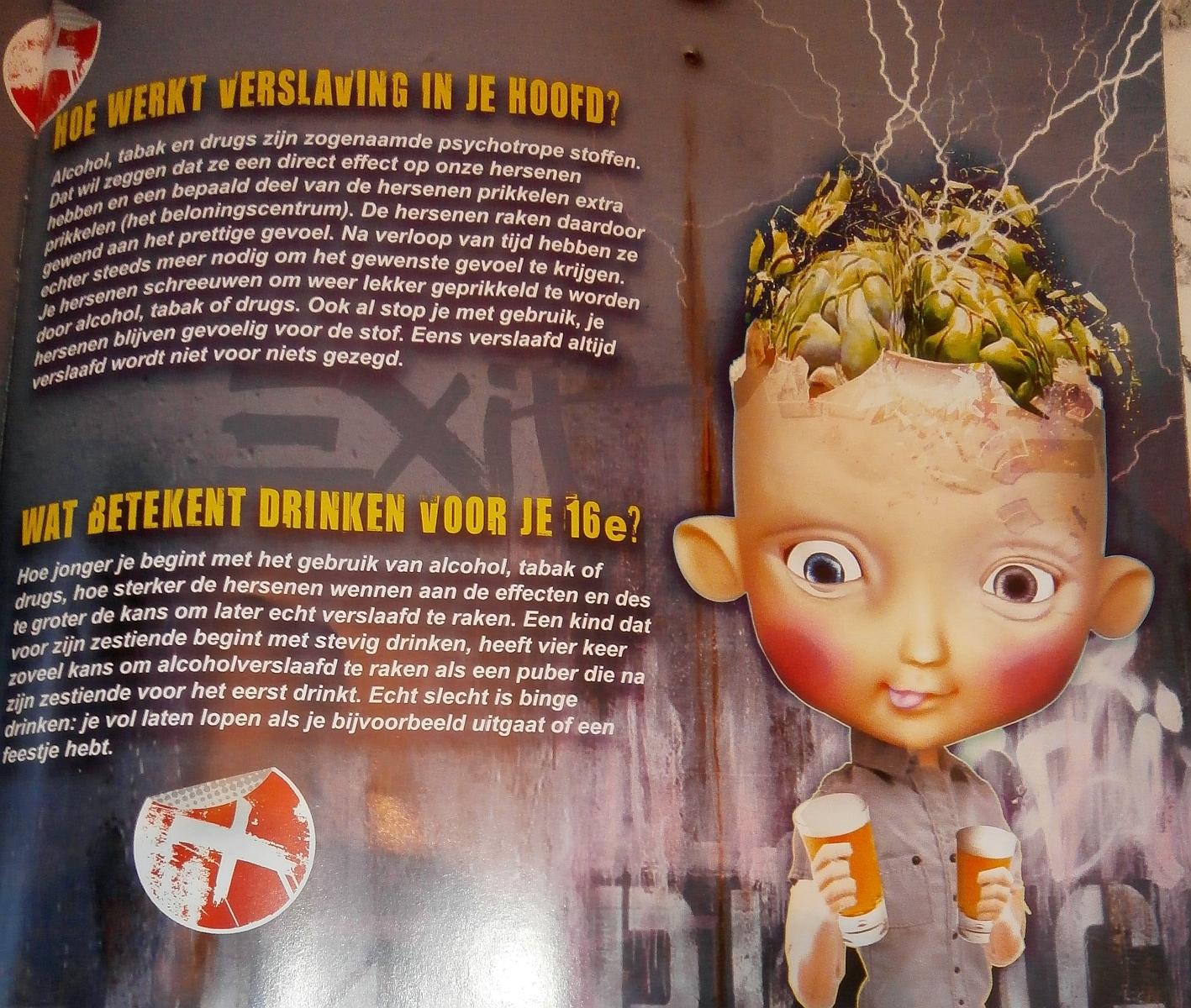Goylaan 0 procent alcohol  jochie in tijdschrift