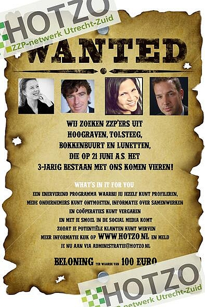 HOTZO poster Wanted