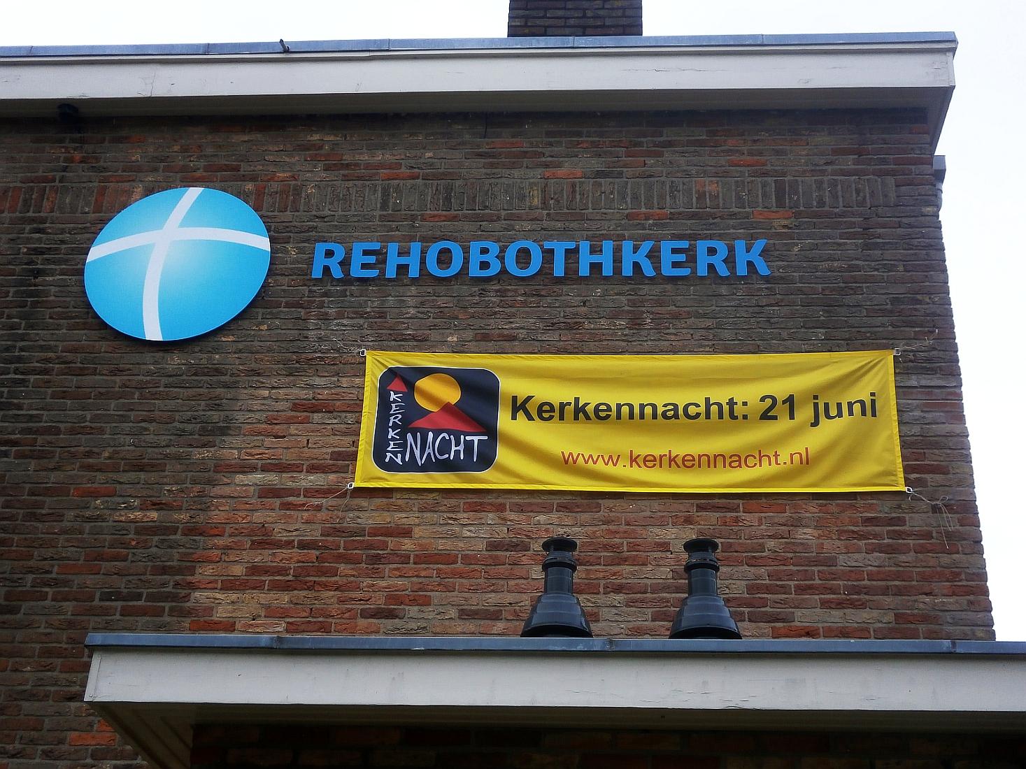 Rehobothkerk Kerkennacht 2013 gevel