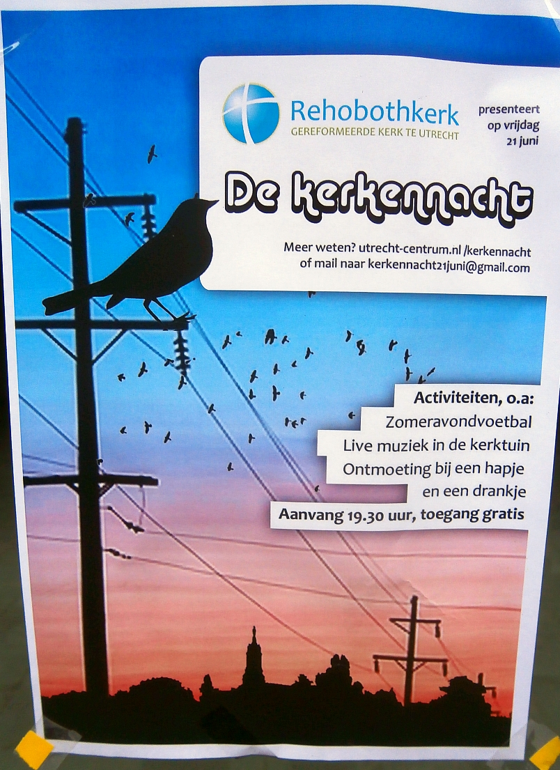 Rehobothkerk Kerkennacht affiche