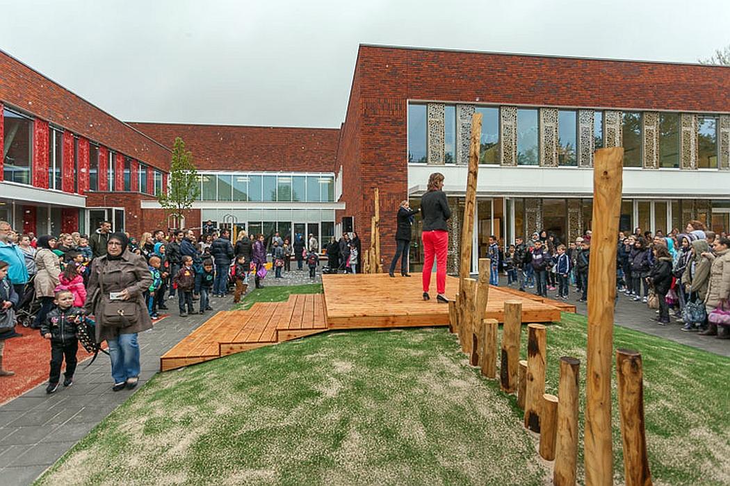 Ariensschool Hoograven nieuwe school