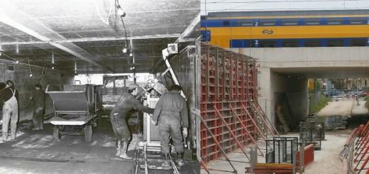 Tunnellaan van s pano aanleg 1974 en 2013
