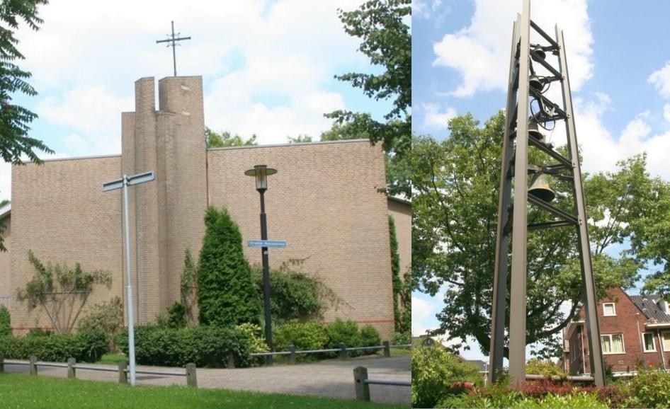 Bernardus Jan de Doper kerk  Pano Kerk en Klokkentoren  OranjeNassaulaan 2