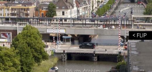 Boekje Station Vaartsche Rijn door Wijkfotograaf Ted van Arnhem