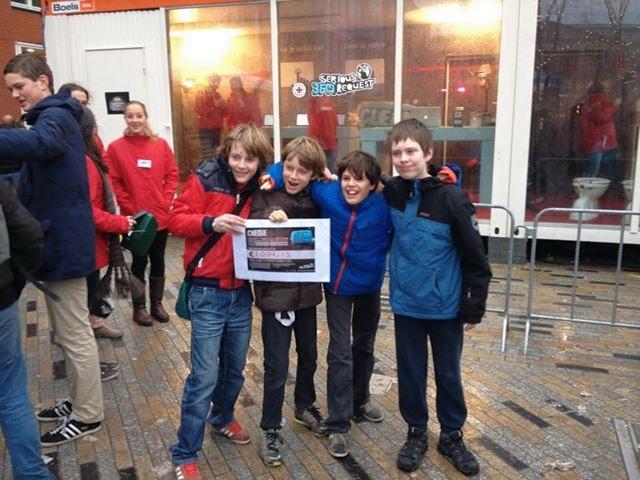 Hoge Raven Kids in Leeuwarden Serious Request 1