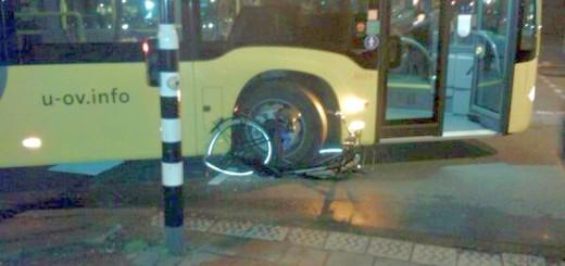 Goylaan fiets geplet
