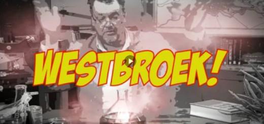 Westbroek met uitroepteken