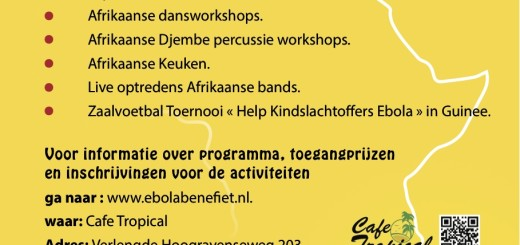 BenefietEbola Flyer