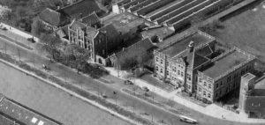 Kop van de  Jutfaseweg 1939