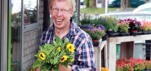 Bloemenverkoper Wout